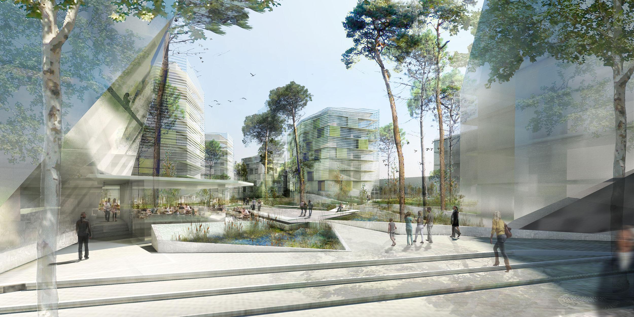 - Écoquartier des Queyries, Bordeaux