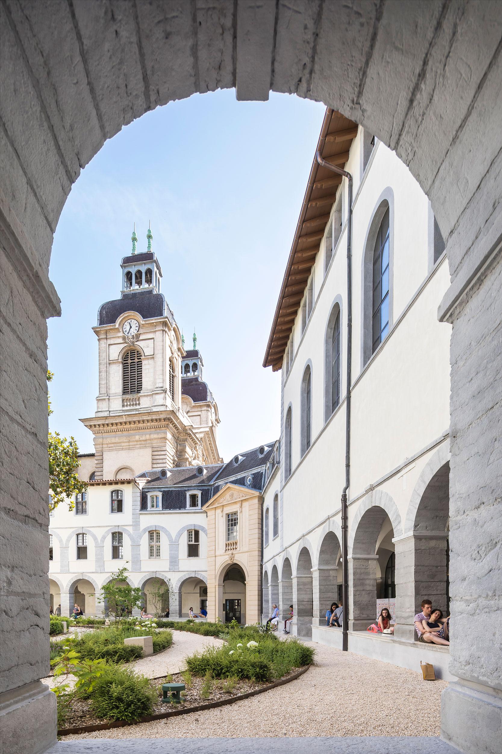 Crédits photographe: Sergio Grazia- Grand Hôtel-Dieu de Lyon