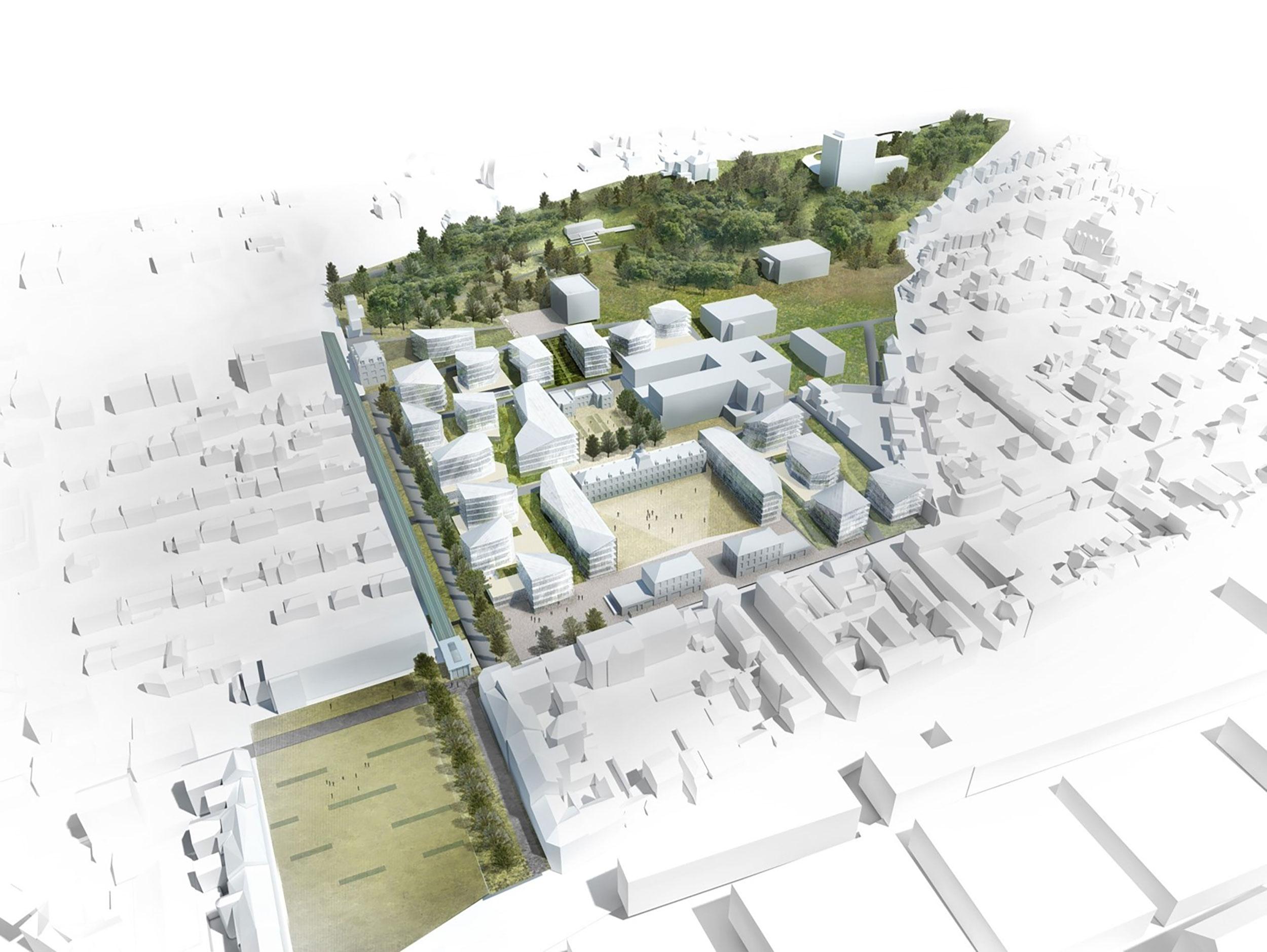- Site Flaubert, Groupe Hospitalier du Havre