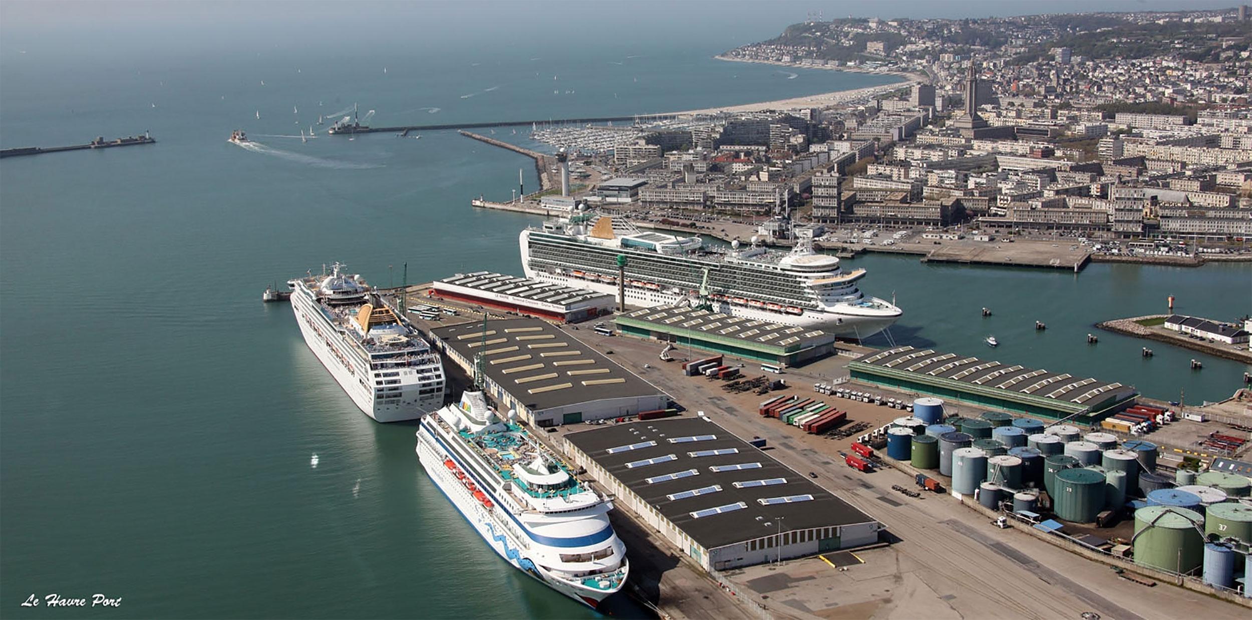 - Pôle croisières de la pointe de Floride, Le Havre