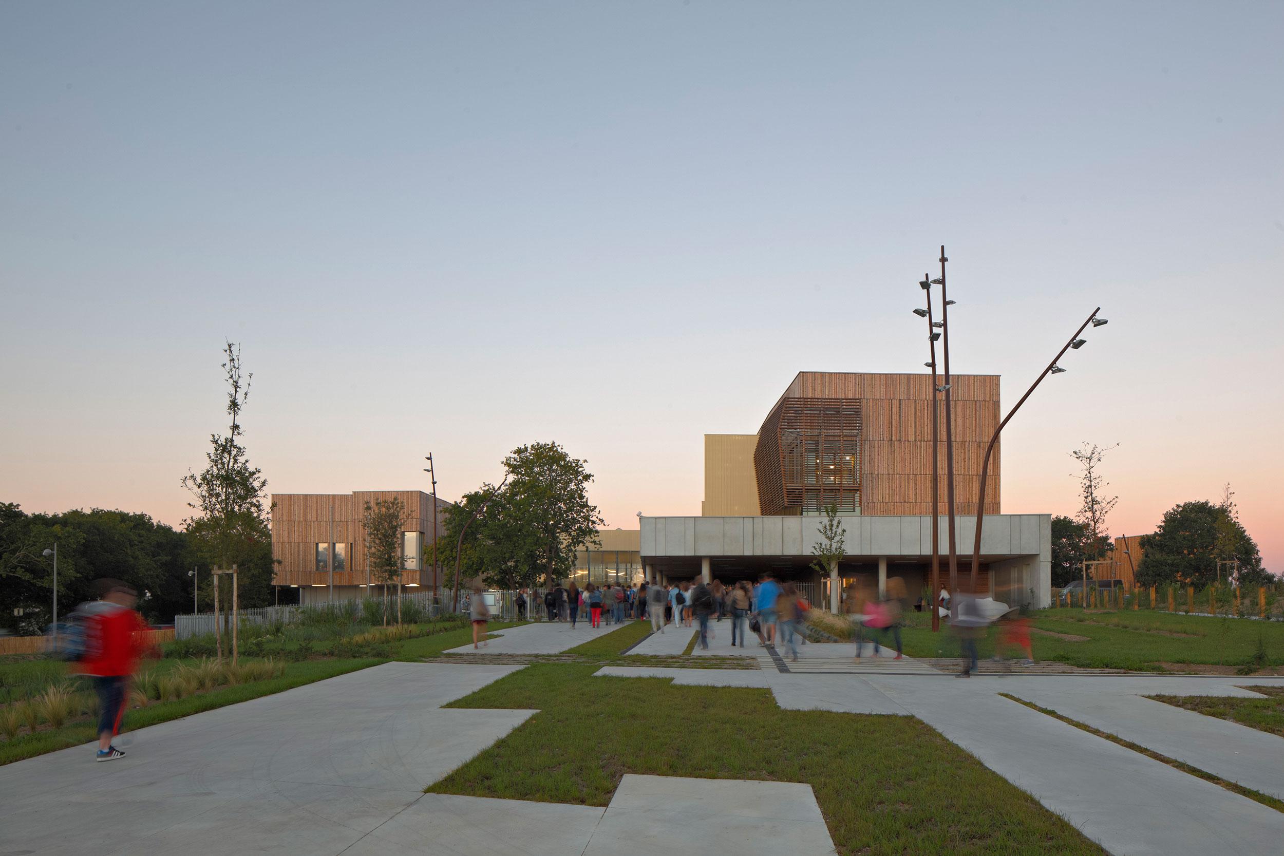 Crédit photographe : G. Satre- Lycée du pays de Retz, Pornic