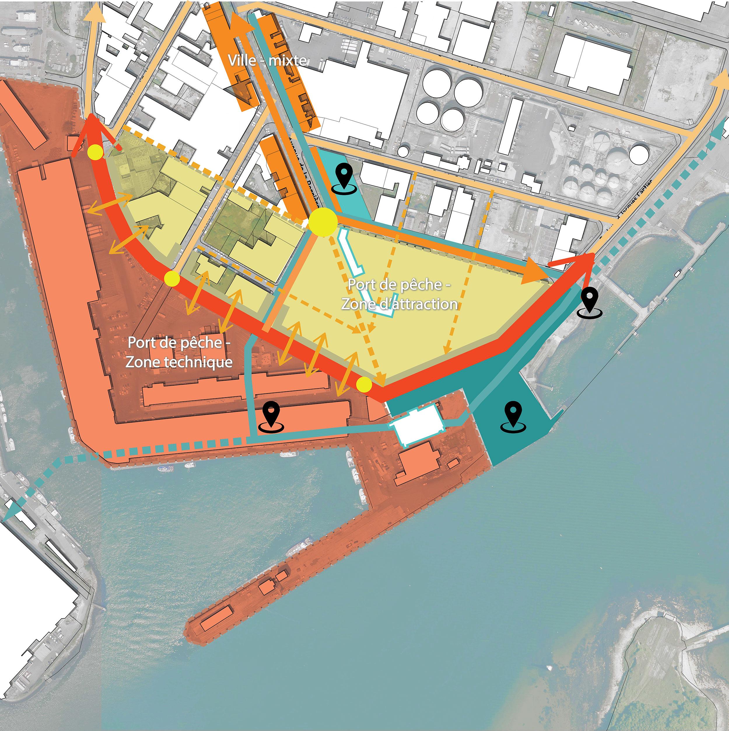 - Pointe de la Perrière, port de Lorient Keroman
