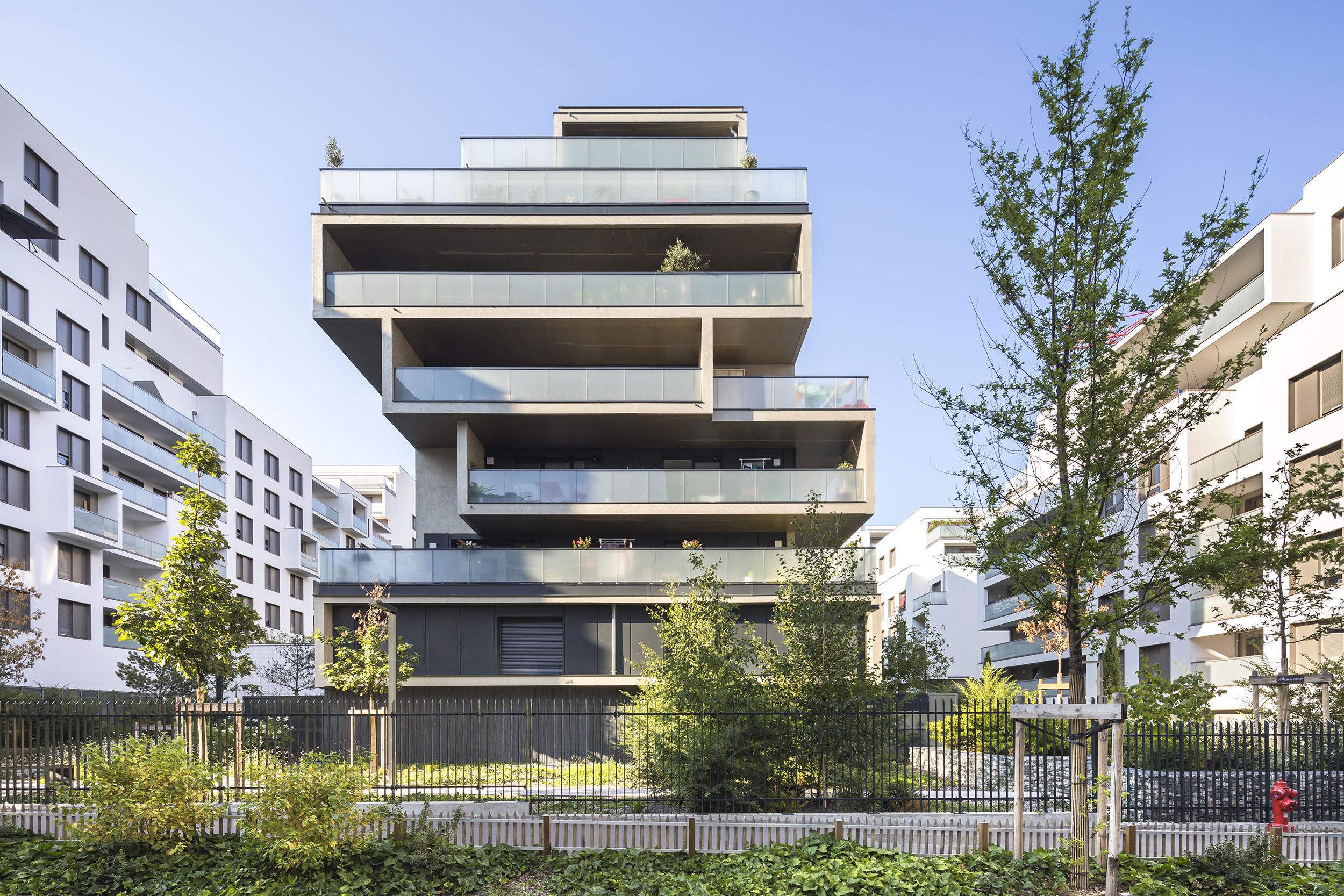 Projet urbain partenarial Berliet à Lyon.  Crédits photographe : Sergio Grazia - Quartier Berliet, Lyon