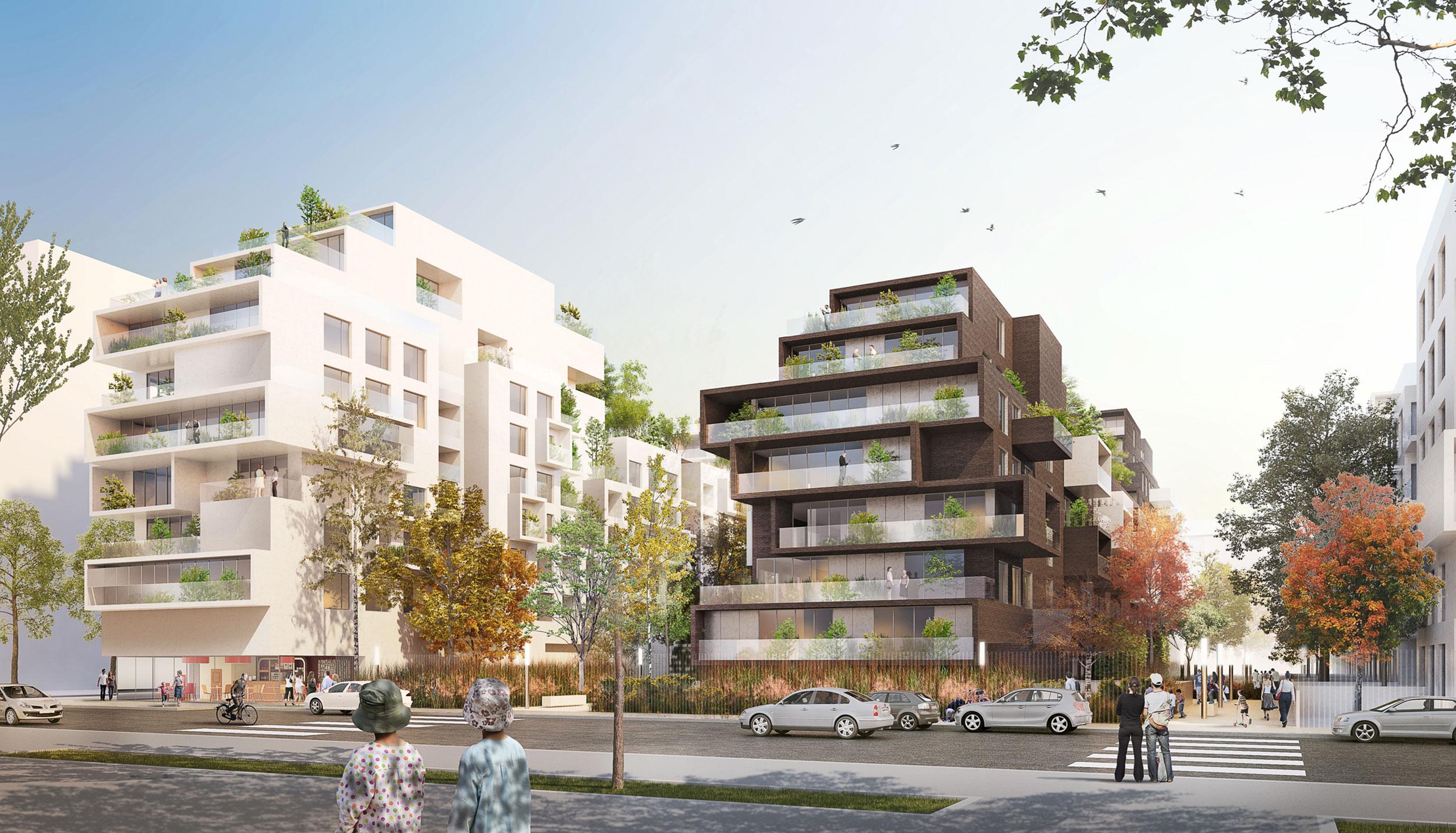 - Quartier Berliet, Lyon