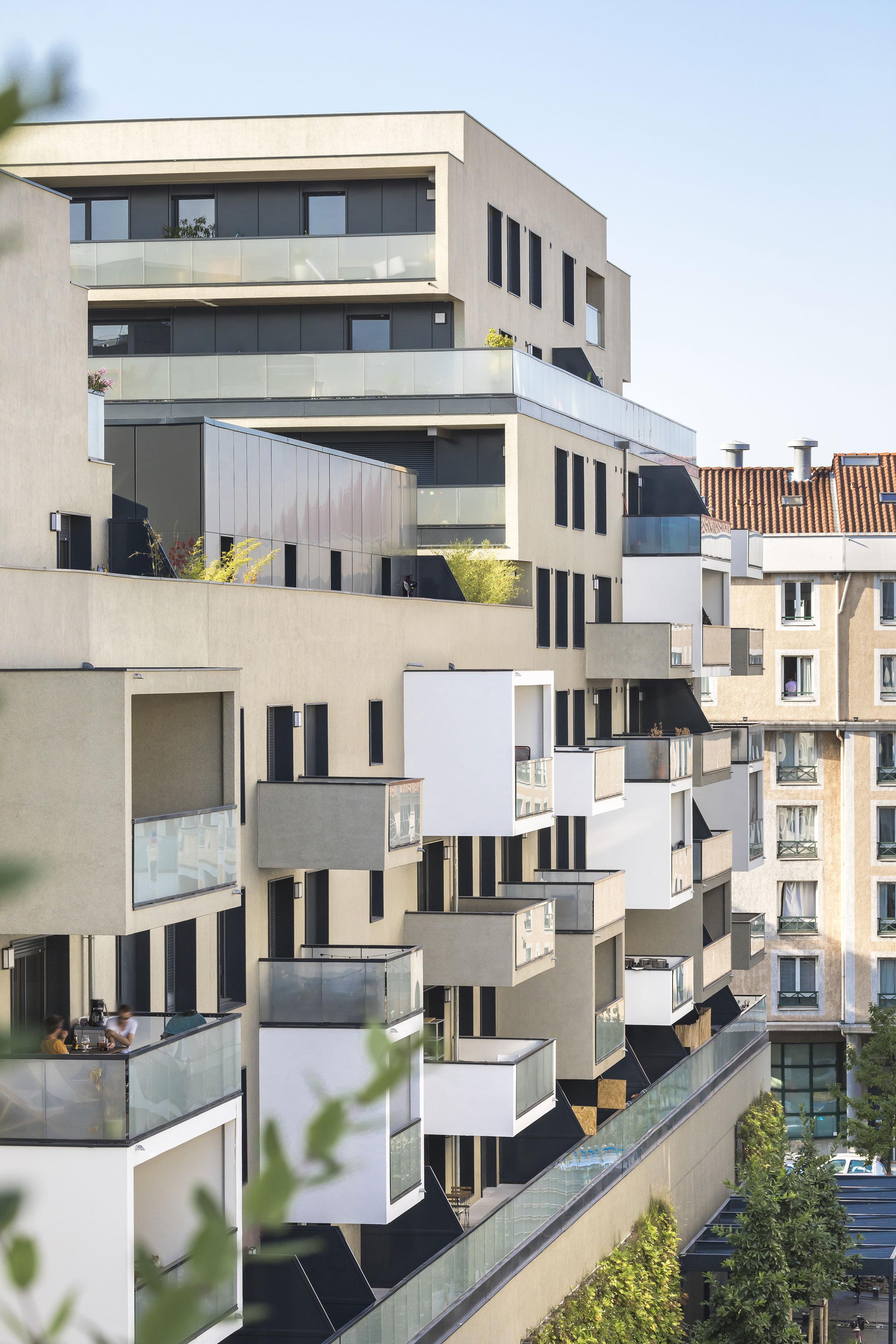 Crédits photographe : Sergio Grazia - Quartier Berliet, Lyon