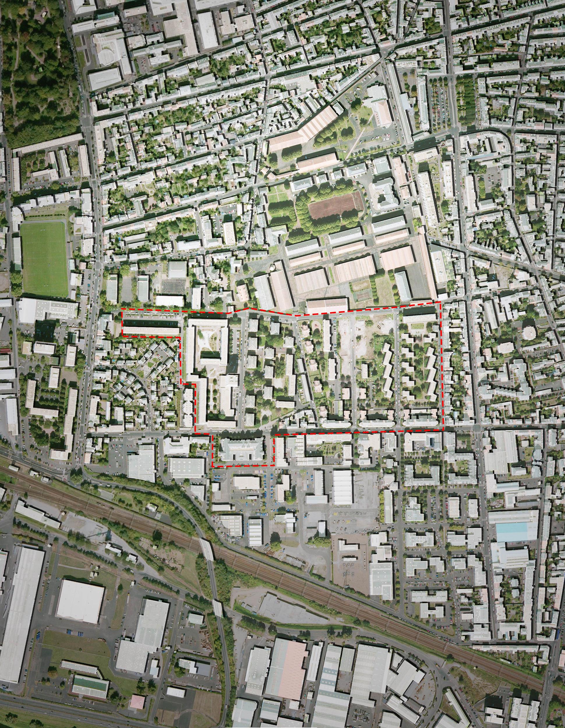 - Requalification urbaine du quartier Maryse-Bastié, Tours