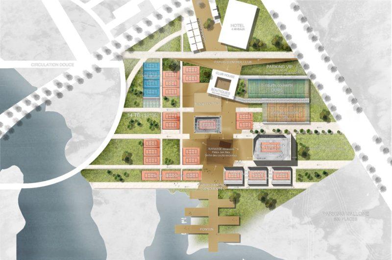 Club Roland Garros  - Linkong area et club Roland Garros, Wuhan